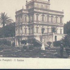 Postales: POSTAL ROMA - VILLA PAMPHILI - IL CASINO - N P G. Lote 134092482