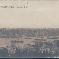 Postales: POSTAL COSTANTINOPLE - CORNE D'OR - LA ROIOFOTOGRAFICA - TURQUIA. Lote 134094598