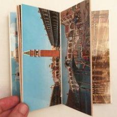 Postales: LIBRITO DE 30 FOTOGRAFÍAS DE VENECIA ITALIA - VENEZIA 30 VEDUTE FOTOCOLOR KODAK EKTACHROME - 1960S. Lote 134234202