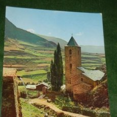 Postales: ANDORRA. CANILLO. IGLESIA - CLAVEROL N.11 TAM.209X148MM. Lote 134240638