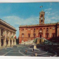 Postales: ROMA IIL CAMPIDOGLIO ANTIGUA POSTAL CON MÁS DE 30 AÑOS. Lote 134712442