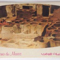 Postales: MARRUECOS MOROC FES LES TANNEURS ANTIGUA POSTAL DE 1983. Lote 134713130