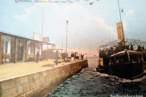 Vaporizador y muelle Gibraltar Algeciras