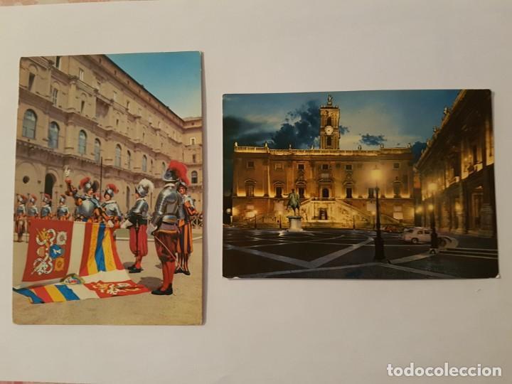 LOTE DE 6 POSTALES AÑOS 70 ROMA Y VATICANO (Postales - Postales Extranjero - Europa)