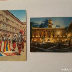 Postales: LOTE DE 6 POSTALES AÑOS 70 ROMA Y VATICANO. Lote 134846290