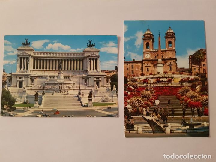 Postales: Lote de 6 postales años 70 Roma y Vaticano - Foto 3 - 134846290