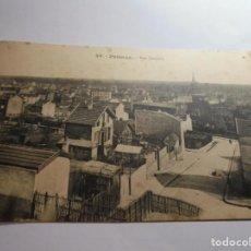 Postales: MAGNIFICA FOTO POSTAL ANTIGUA,PUTEAUX-VUE GENERALE. Lote 135817158