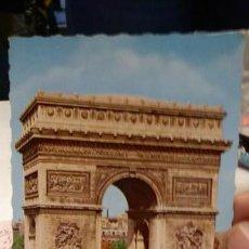 Postales: POSTAL FRANCIA PARIS ARCO DEL TRIUNFO. Lote 135826230