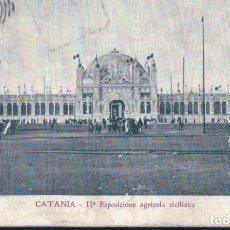 Postales: POSTAL CATANIA - IIª ESPOSIZIONE AGRICOLA SICILIANA - VAT - ITALIA. Lote 136013018