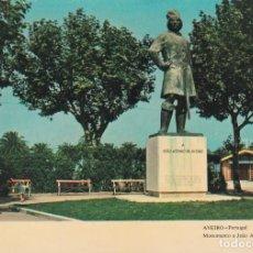 Postales: POSTAL MONUMENTO A JOAO AFONSO DE AVEIRO. AVEIRO (PORTUGAL). Lote 136076094