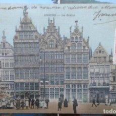 Postales: POSTAL DE ANVERS, AMBERES, BELGICA. Lote 136138058