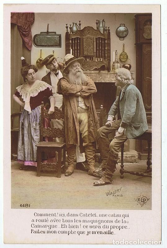 CARTA POSTAL FRANCESA (Postales - Postales Extranjero - Europa)