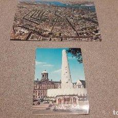 Postales: POSTALES....DOS POSTALES DE HOLANDA..ASTERDAM.... Lote 136483838