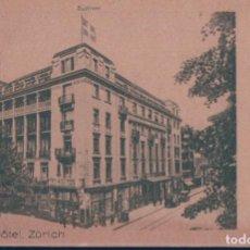 Postales: POSTAL SAVOY - HOTEL - ZURICH - SUIZA. Lote 136632562