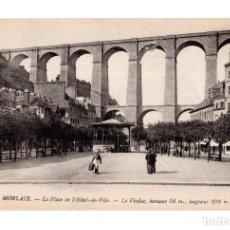 Postales: MORLAIX.- LA PLACE DE L´HÓTEL DE VILLE. Lote 136751826