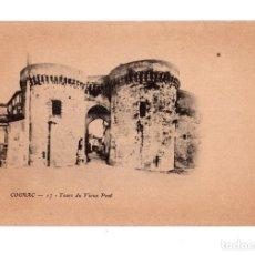 Postales: COÑAC. FRANCIA.- TOURS DU VIEUX PONT. Lote 137165278