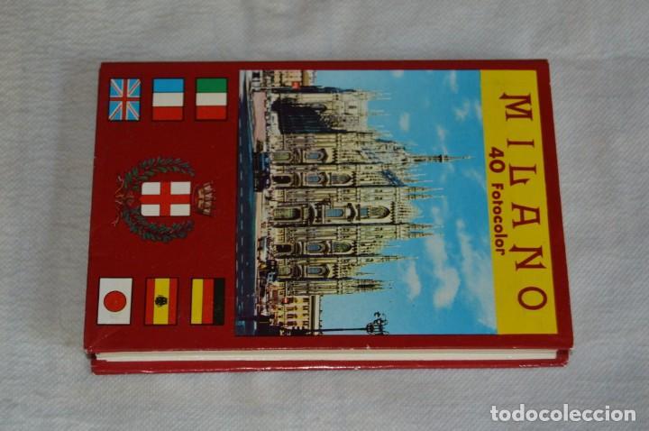 Postales: ANTIGUO LIBRITO SOUVENIR DE VIAJE - MILANO - 40 FOTOCOLOR - AÑOS 50 / 60 - ENVÍO 24H - Foto 2 - 137306602