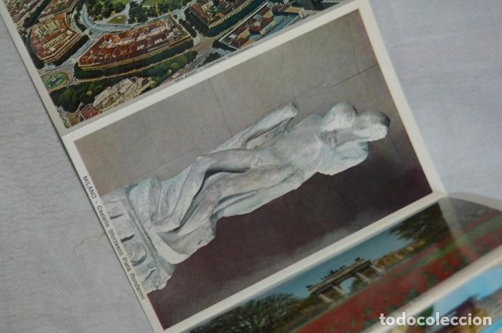 Postales: ANTIGUO LIBRITO SOUVENIR DE VIAJE - MILANO - 40 FOTOCOLOR - AÑOS 50 / 60 - ENVÍO 24H - Foto 9 - 137306602