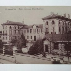 Postales: POSTAL AUXERRE - ECOLE NORMALE D'INSTITUTRICES, SIN CIRCULAR. Lote 137319566