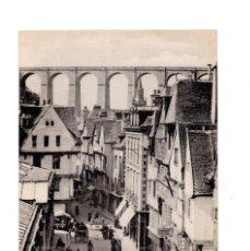 Postales: MORLAIX.(FRANCIA).- RUZ DES HALLES. Lote 137354366