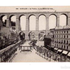 Postales: MORLAIX.(FRANCIA).- LE VIADUC, VU DE L´HOTEL DE VILLE. Lote 137354638