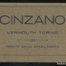 Postales: ITALIA. PIEMONTE. SANTA VITTORIA D´ALBA. *CINZANO. VERMOUTH TORINO...* LOTE 11 DIFERENTES. NUEVAS.. Lote 137425710