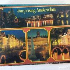 Postais: BJS.AMSTERDAM HOLLAND.CIRCULADA.EDICIONES.EURO COLOR.. Lote 137971830