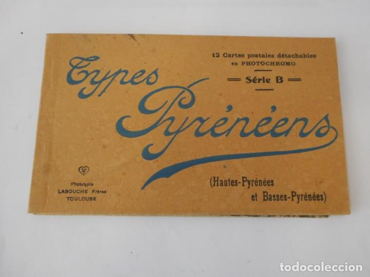 LIBROS DE POSTALES TYPES PYRÉNÉENS (Postales - Postales Extranjero - Europa)