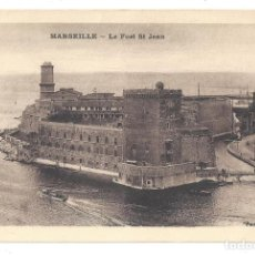 Postales: ANCIENNE POSTALE MARSEILLE.- LE FORT ST JEAN. PHOCÉA. FRANCE- FRANCIA. Lote 138186262