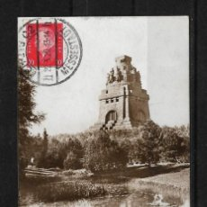 Postales: ALEMANIA 1929 TARJETA POSTAL CIRCULADA DE LEIPZIG A COLOMBIA . Lote 138217310
