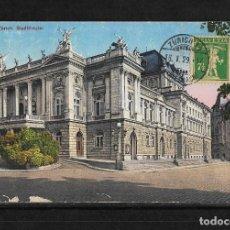 Postales: SUIZA 1929 TARJETA POSTAL CIRCULADA DE ZURICH A COLOMBIA . Lote 138228082