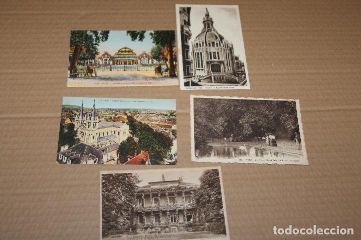 LOTE 5 POSTALES ANTIGUAS DE VICHY (Postales - Postales Extranjero - Europa)