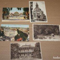 Postales: LOTE 5 POSTALES ANTIGUAS DE VICHY. Lote 138583806
