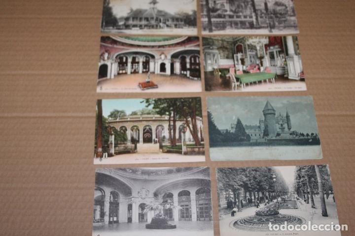 LOTE 9 POSTALES ANTIGUAS DE VICHY (Postales - Postales Extranjero - Europa)