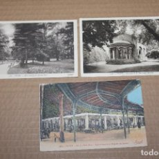 Postales: LOTE 3 POSTALES ANTIGUAS DE VICHY. Lote 138584906
