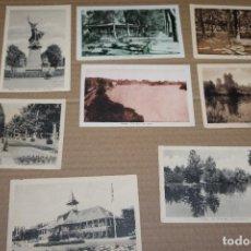 Postales: LOTE 8 POSTALES ANTIGUAS DE VICHY SIN CIRCULAR. Lote 138585418