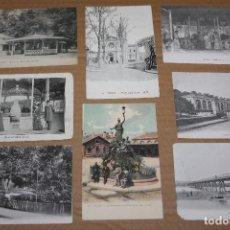 Postales: LOTE 8 POSTALES ANTIGUAS DE VICHY SIN CIRCULAR. Lote 138586906