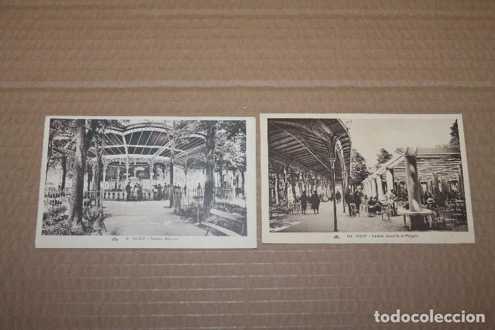 LOTE 2 POSTALES ANTIGUAS DE VICHY SIN CIRCULAR (Postales - Postales Extranjero - Europa)