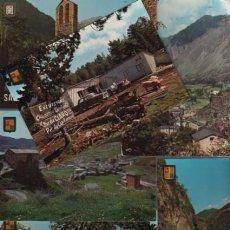 Postales: LOTE 26 POSTALES DE ANDORRA - CIRCULADAS Y NO CIRCULADAS. Lote 138615230