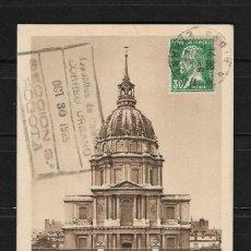 Postales: 1929 FRANCIA TARJETA POSTAL CIRCULADA DE PARIS A COLOMBIA . Lote 138816286