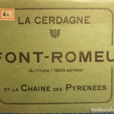 Postales: FONT-ROMEU -LA CERDAGNE VISTA PANORAMICA. Lote 139133282