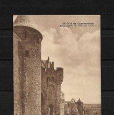 Postales: FRANCIA 1929 TARJETA POSTAL DE CARCASONA CIRCULADA A COLOMBIA. Lote 139410130