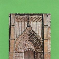 Postales: POSTAL PORTA PRINCIPAL DO MOSTEIRO. BATALHA (PORTUGAL). Lote 140046934