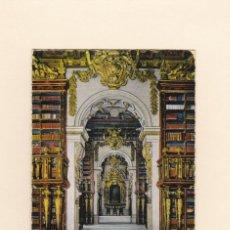 Postales: POSTAL BIBLIOTECA DA UNIVERSIDADE. COIMBRA (PORTUGAL). Lote 140047102