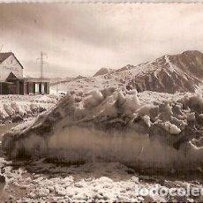 Postales: ANTIGUA POSTAL 575 VALLS ANDORRA FRA MIQUEL CAP DEL PORT D'ENVALIRA REFUGI APA ESCRITA 1957. Lote 140051722