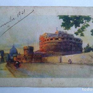 1931 Roma S. Pietro e castel S. Angleo
