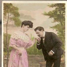 Postales: BELGICA & CIRCULADO, FANTASIA, ESTE DULCE BESO... ESNEUX, TILFF 1907(6881). Lote 140159742