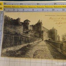 Postales: POSTAL DE FRANCIA. AÑO 1905. CARCASSONNE. CÔTE DE LA PORTE D'AUDE. 1386. Lote 140658474