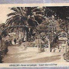 Postales: TARJETA POSTAL DE GIBRALTAR - PASEO DEL PARQUE. L.ROISIN. Lote 140700414