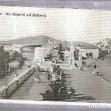 Postales: TARJETA POSTAL DE GIBRALTAR - WAR MEMORIAL AND BOULEVARD. Lote 140702978